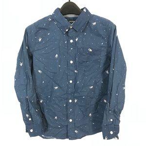 Oshkosh shirt astronaut print